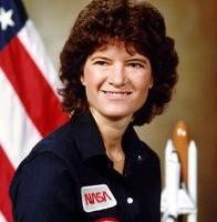Sally Ride, the first American woman in space