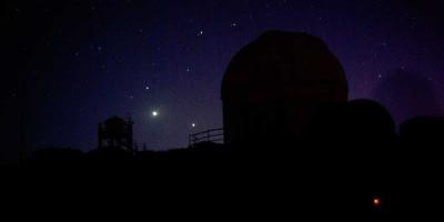 Venus and Jupiter and a different telescope, Izaña, Tenerife