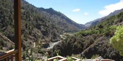 Amazing view downt he Barranco de angustias, Rivendell, Caldera de Taburiente, La Palma