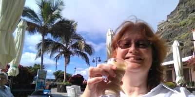 Me having a hard time in Tazacorte, La Palma