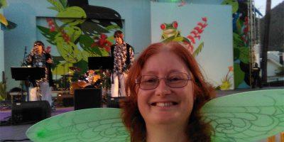 Me at the Guateke concert in Los Llanos de Aridane